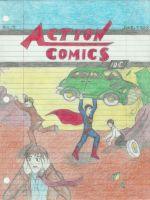 Action Comics 1 by NOTEBLUE13