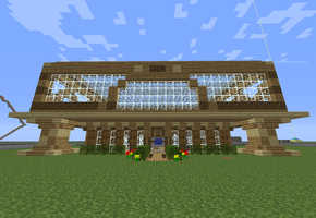 Minecraft build 1 by cl4pt-tp