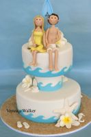 Beach lovers Cake by Verusca