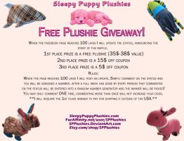 Free Plushie Giveaway! by SPPlushies