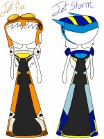 Jet twin dresses by foxy21a72