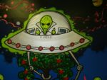 Alien Mural by JimmieJump