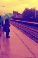 256 On the Platform by DistortedSmile