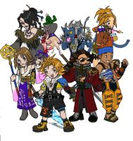 Final Fantasy X Chibi Style by StephenRong