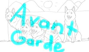 Your GSD here 70points CLOSED by AvantGardeKennels