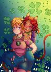 -- Commission: St Patrick's Day by Kurama-chan