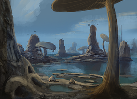 Skywind - Zafirbel Bay by Verticae