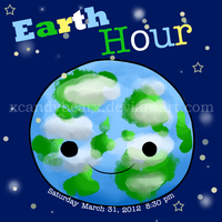 Earth Hour by xCandyBearx