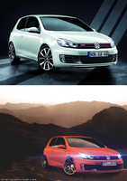 VW Golf GTI Update by OverdozeCreatives