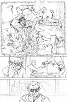 Ultimates Practice Page Three by tomographiser