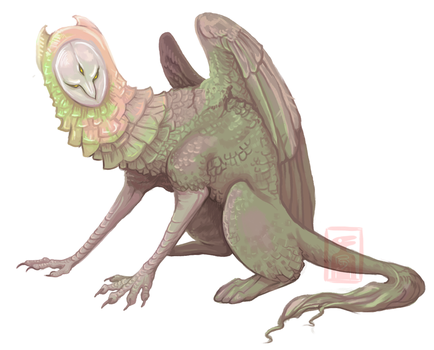 Forest Sphinx by RedTallin