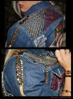 Trophy Jacket detail by Bonniemarie