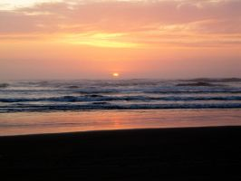 Beach Sunset 1 -- Sept 2009 by pricecw-stock