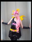 (MLP) Batman Themed Flutterbat Cosplay by KrazyKari