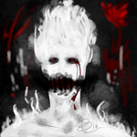 Horrortale Grillby :Contest Entry: by Howlmint