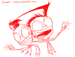 Bro drink with me by Invader--ZIM