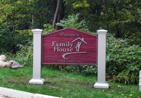 Family House Sign by signcrafter