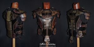 Rogue Elder Scrolls armor by AtelierFantastique