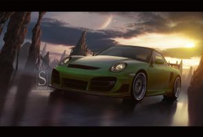 Porsche Techart by SaphireDesign