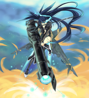 Black Rock Shooter by vixiebee