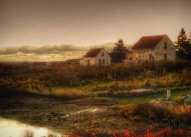 Gabarus at Sunrise Cape Breton Island by ShawnaMac