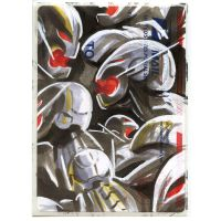 Copic Ultron Drones on a 228 by danomano65