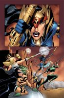Justice League Beyond 11 preview by dfridolfs