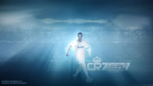 CR7  Cristiano Ronaldo by Meridiann