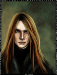 Bill Weasley card by Patilda
