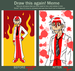 Draw This Again! Meme: Bengt The Ball by Alivoir