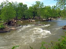 Great Falls of the Potomac 68 by Dracoart-Stock
