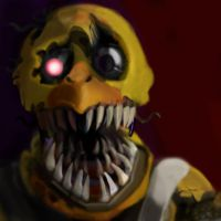 Nightmare Chica by SeaMonsterChris