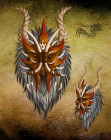 Haroth Contest Mask by yamiyo