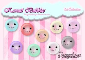 Kawaii Bubbles - 1st Collection by DaisychanOrange