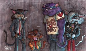 Hep Catillac Cats 8 by Phraggle