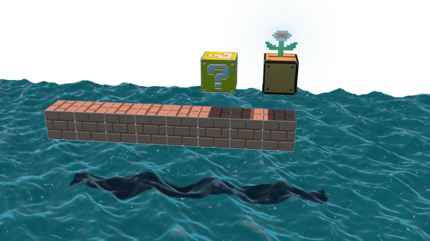 Mario 3d level by malice9005