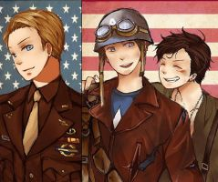 The first avenger by MachoMachi