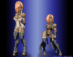 Stonemaul Sisters.. Well Half by Raeffe