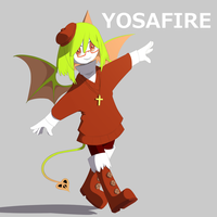 Yosafire by SandyScarecrow