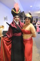 Jafar and Jasmine by Shiroyuki9