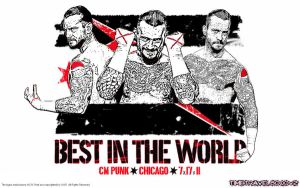 CM Punk Wallpaper by Timetravel6000v2