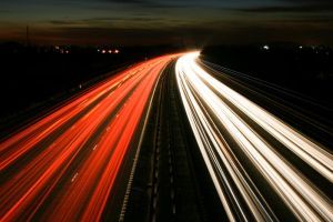 M3 Motorway Traffic Trails - 5 by fruitycube