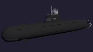 Stellveria Class Diesel Electric Attack Submarine by Stealthflanker