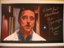 Paul McGillion Signed by jeminabox