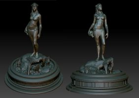 Statue WIP by CCrumpler