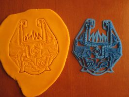 Midna Cookie Cutter + Test Dough by B2Squared