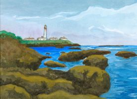 Pigeon Point Lighthouse by acasas