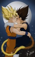 Moonlit night by xH-Chanx
