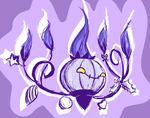 day 9: chandelure by c0baltjuce