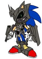 Blackwargreymon X-Antibody Sonic by pabex